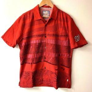 Tommy Bahama Washington Nationals Hawaiian Shirt
